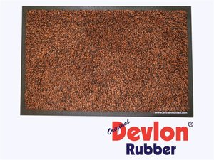 Devlon-Rubber Brun 40x60cm