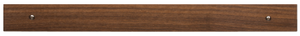 Magnetlist Valnöt 50cm